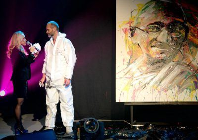 Colormix Gandhi Cecile de Menibus Suisse geneve Gala Michael Raivard