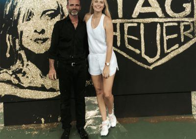 Live Gluing Maria Sharapova Singapour tag hueur Michael Raivard