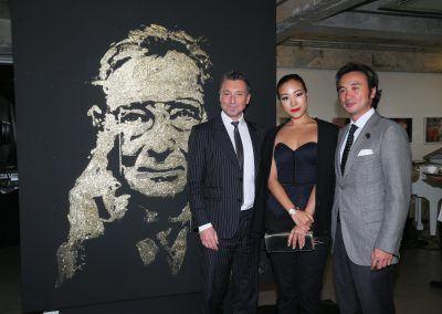 Live Painting Roger dubuis Hong Kong event Michael Raivard