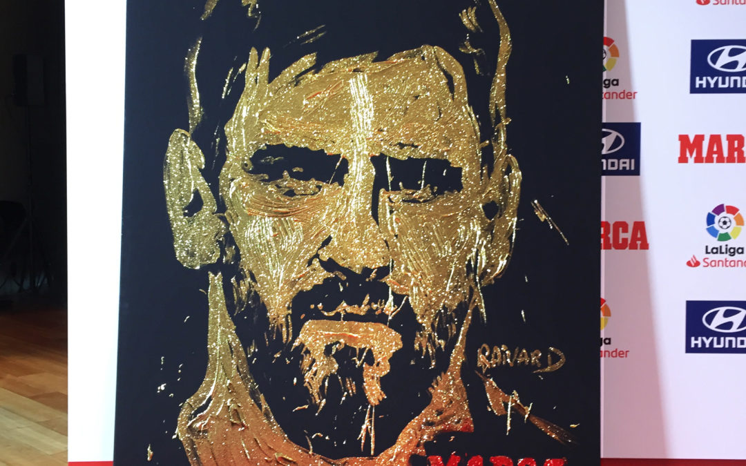 Speed Painter Marca Barcelona Spain Lionel Messi By M.Raivard